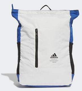 Adidas Classic Top-Zip Backpack - White | Adidas US