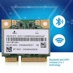 Bluetooth WiFi Wireless Network Card PCI-E For Atheros AR5B225 DELL ASUS CHU