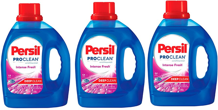 3-Ct Persil ProClean Power-Liquid Laundry Detergent