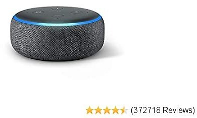 Echo Dot - Smart Speaker with Alexa - Charcoal