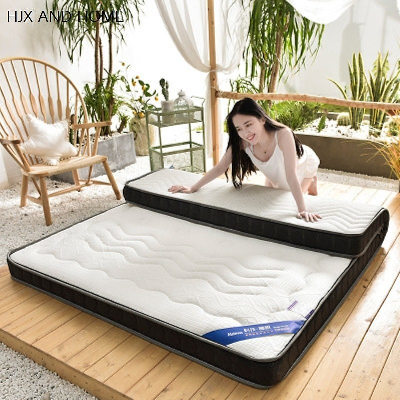 US $63.0 10% OFF|natural Latex Mattress 10cm Thickness King Queen Full Twin Size Memory Foam Filling Breathable Comfortable Rebound Tatami|Mattresses| - AliExpress
