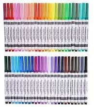 50 Color Round Tip Washable Marker Set By Creatology