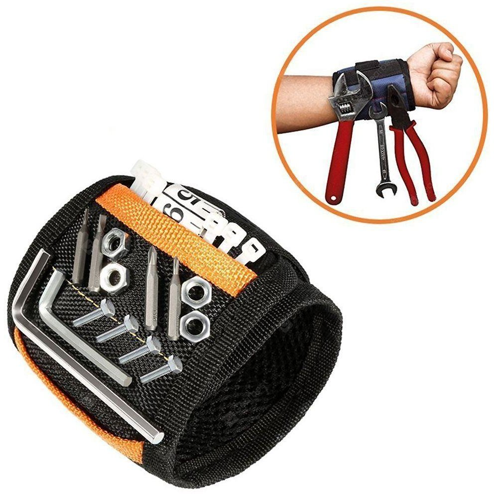 Magnetic Wristband Black Storage Supplies Sale, Price & Reviews | Gearbest