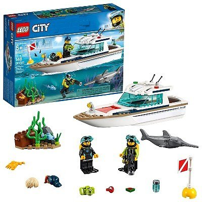 *20% OFF* LEGO City Diving Yacht 60221