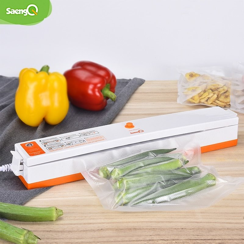 US $14.51 56% OFF|saengQ Electric Vacuum Sealer Packaging Machine For Home Kitchen Including 15pcs Food Saver Bags Commercial Vacuum Food Sealing|Vacuum Food Sealers| - AliExpress