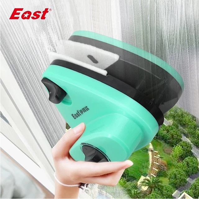 East Super Strong Magnetic 16-38mm Double-sided Window Cleaner Adjustable Glass Wiper Magnet Glazing Cleaning Tools H400