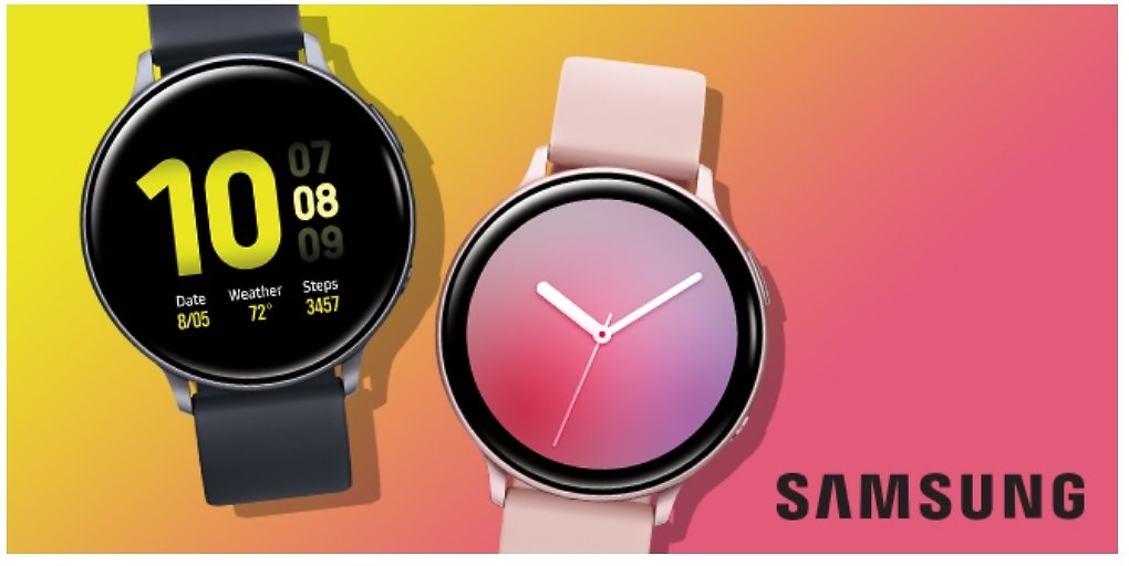 $100 Off Samsung Galaxy Active 2 Smartwatches  ( 6 types)