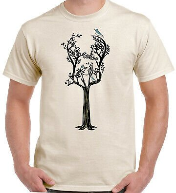 Acoustic Guitar Tree Man T-shirt Funny Bass Electric Rock Group