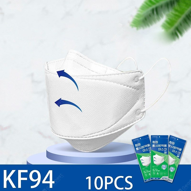 10PCS KF94 Face Mask Protection Anti Flog Dust Protection Respirator Non-Medical Masks Sale, Price & Reviews | Gearbest