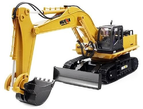 HUINA 550 Drift RC Excavator Rc Model Remote Control 15 CH RC Truck 1/14 Tractor Crawler Digger RTR Excavator Radio Control Toys for Boys