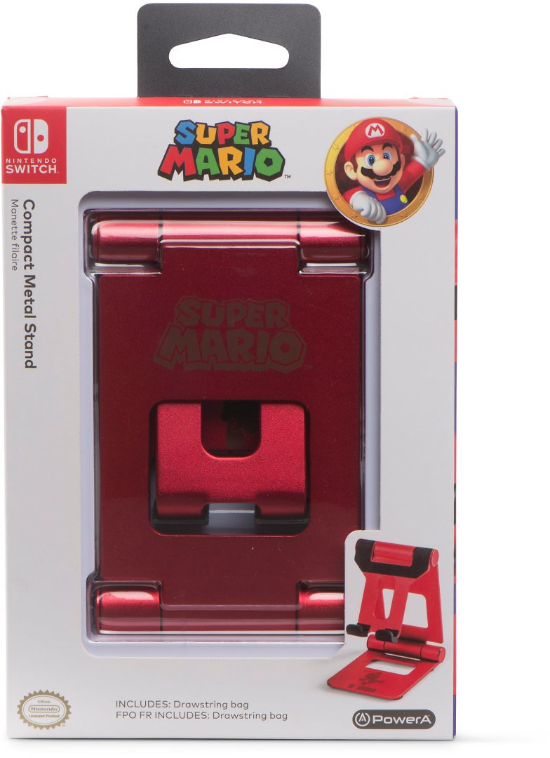 PowerA Compact Metal Stand for Nintendo Switch - Super Mario