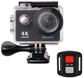EKEN H9R Sport Camera Action Waterproof 4K Ultra HD 2.4G Remote WiFi Without Live Streaming FunctionCar DVRsfromAutomobiles & Motorcycleson Banggood.com