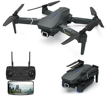 Eachine E520 WIFI FPV With 4K/1080P HD Wide Angle Camera High Hold Mode Foldable RC Drone Quadcopter RTF RC Drones from Toys Hobbies and Robot on Banggood.com