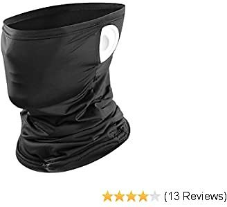 Maxjoy Summer Neck Gaiter/Bandana Face Cover UV Protection for Outdoor