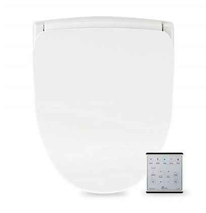 BioBidet Slim TWO Bidet Smart Toilet Seat with Night Light and Stainless Nozzle (Elongated or Round)