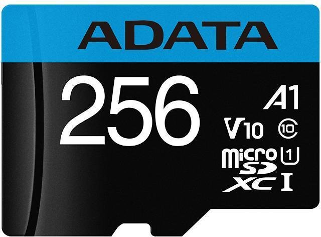 ADATA 256GB Premier MicroSDXC UHS-I / Class 10 V10 A1 Memory Card with SD Adapter, Speed Up to 100MB/s (AUSDX256GUICL10A1-RA1) - Newegg.com