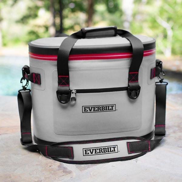 Everbilt 30-Can Soft-Sided Cooler Bag – Holds 22 Lbs. of Ice 410-021-0111