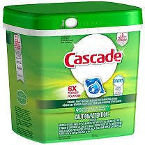 Cascade Platinum ActionPacs Lemon Scent Dishwasher Detergent