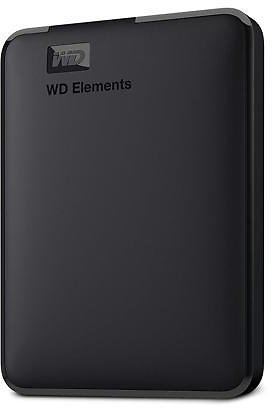 WD 5TB Elements Portable Storage USB 3.0 Model WDBU6Y0050BBK-WESN Black