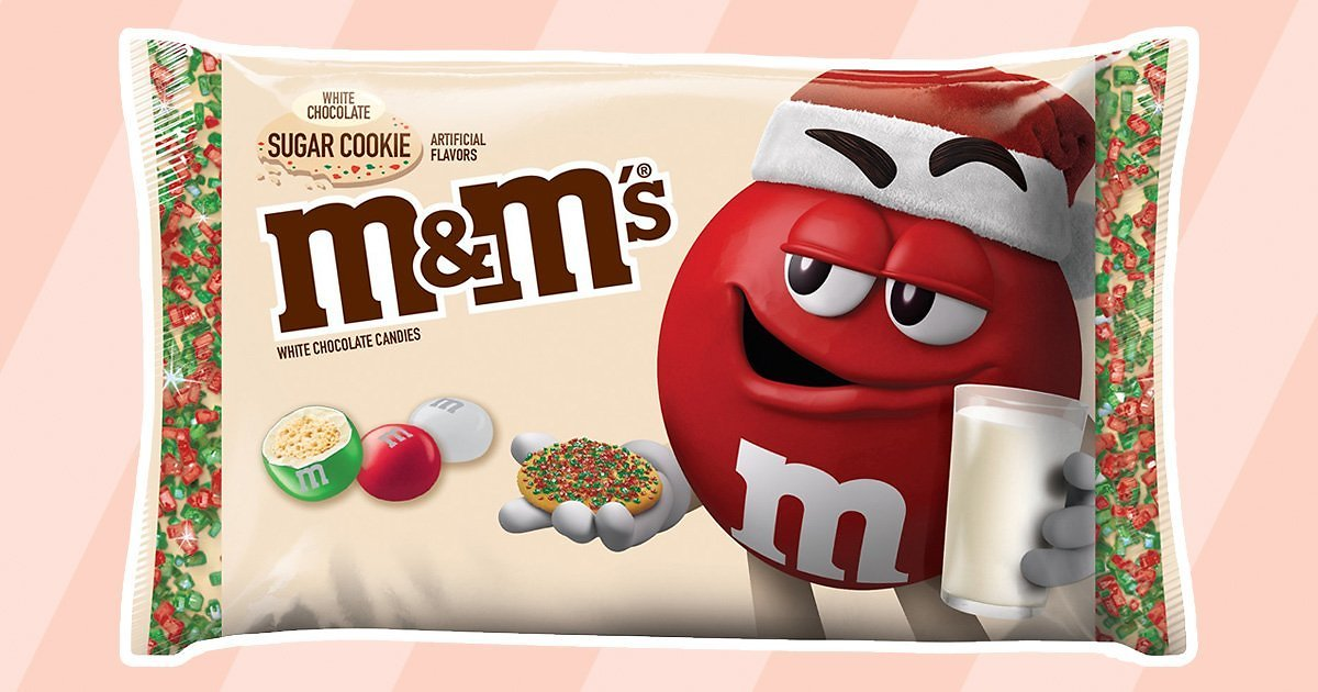 NEW Sugar Cookie M&M's Will Debut Just in Time for Christmas 2020!