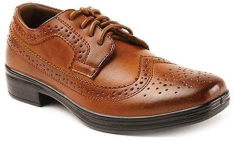 Deer Stags Boys' Ace Dress Wing-Tip Oxford Dress Shoes (Select Sizes)