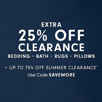 Up to 75% Off Summer Clearance + Extra 25% Off | Williams Sonoma Home