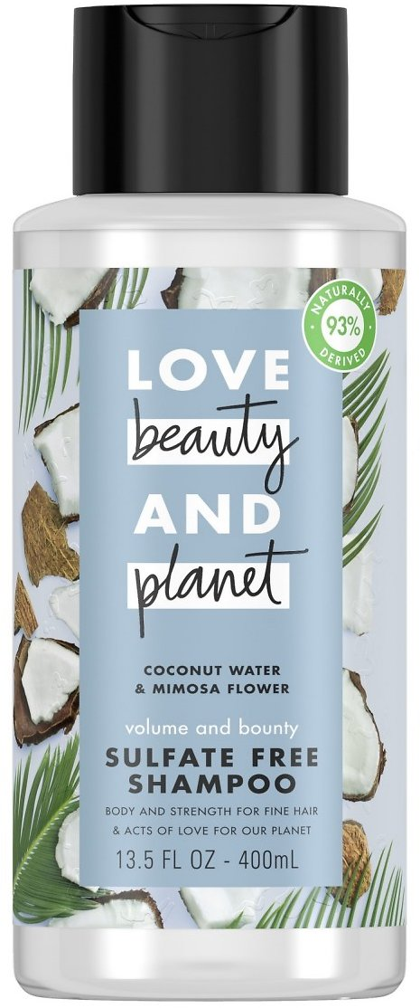 Love Beauty And Planet Shampoo Thickening Coconut Water & Mimosa Flower Sulfate Free 13.5 Oz 1