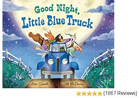 Good Night, Little Blue Truck Hardcover – Picture Book, October 15, 2019