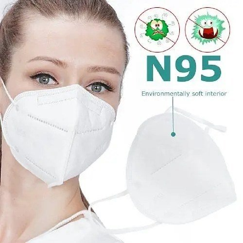 KN95 Protective Mask Conforms to FFP2