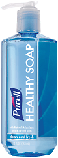 Purell Healthy Antibacterial Liquid Hand Soap Clean and Fresh Scent 12.9 Oz Bottle - Office Depot