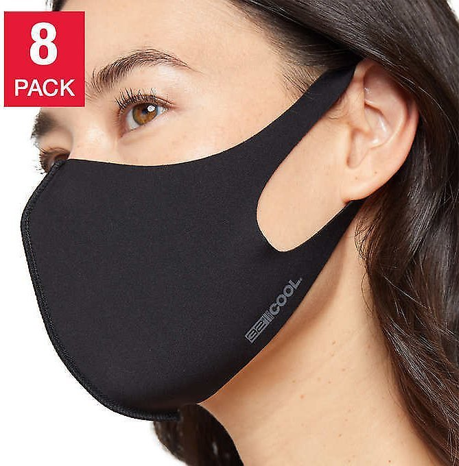 8-Pack, 32 Degrees Adult Unisex Face Cover