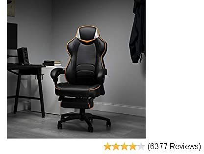 Fortnite OMEGA-Xi Gaming Chair (OMEGA-02) Reclining Ergonomic Chair with Footrest