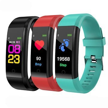 Bakeey B05 0.96 Inch TFT Color Display Smart Bracelet Heart Rate Blood Pressure Monitor Sport Watch Smart Wearable Device from Consumer Electronics on Banggood.com