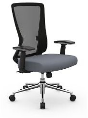 Realspace Faux Leather Mid-Back Task Chair