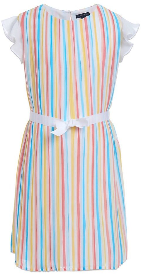 Tommy Hilfiger Girls 7-16 Pleated Dress