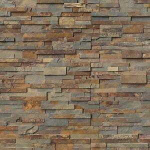MSI Natural Earth Ledger Panel 6 In. X 24 In. Natural Slate Wall Tile (10 Cases/60 Sq. Ft./pallet)-LPNLSNATEAR624