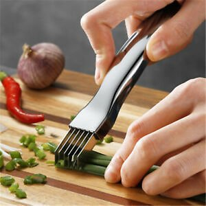 Household Stainless Steel Onion Cutter Grater Vegetable Kitchen Gadgets Tool