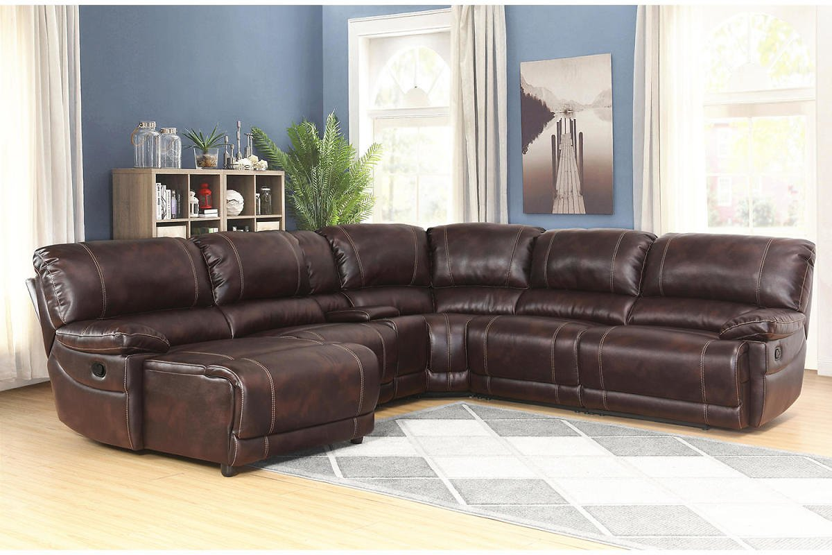 Carrington 6-Piece Sectional Sofa (2 Colors)