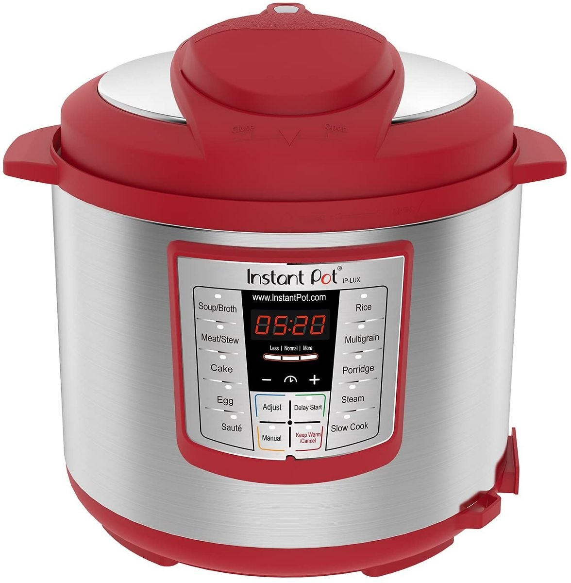 Instant Pot Lux 6-in-1 6-Quart Electric Multi-Cooker, Red