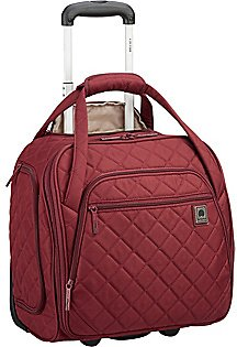 Delsey Quilted Rolling Underseat Tote - Exclusive - EBags.com