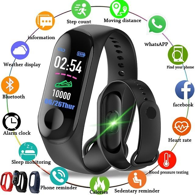 US $4.98  2020 Smart Watches Waterproof Sports For Apple Android Smartwatch Heart Rate Monitor Blood Pressure Functions For Men Women Kids Smart Watches  - AliExpress