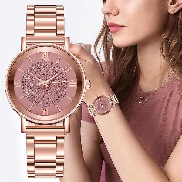 US $1.87 40%OFF | Hot Sale Women Watches Luxury Watches Quartz Watch Stainless Steel Dial Casual Bracelet Watch for Woman Casual Watches Dropship