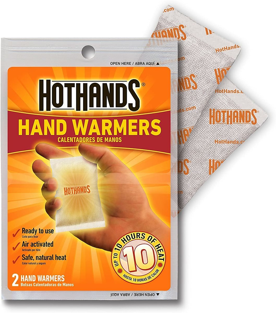 Back! 6-Pack HotHands Hand Warmers (3-Pairs)