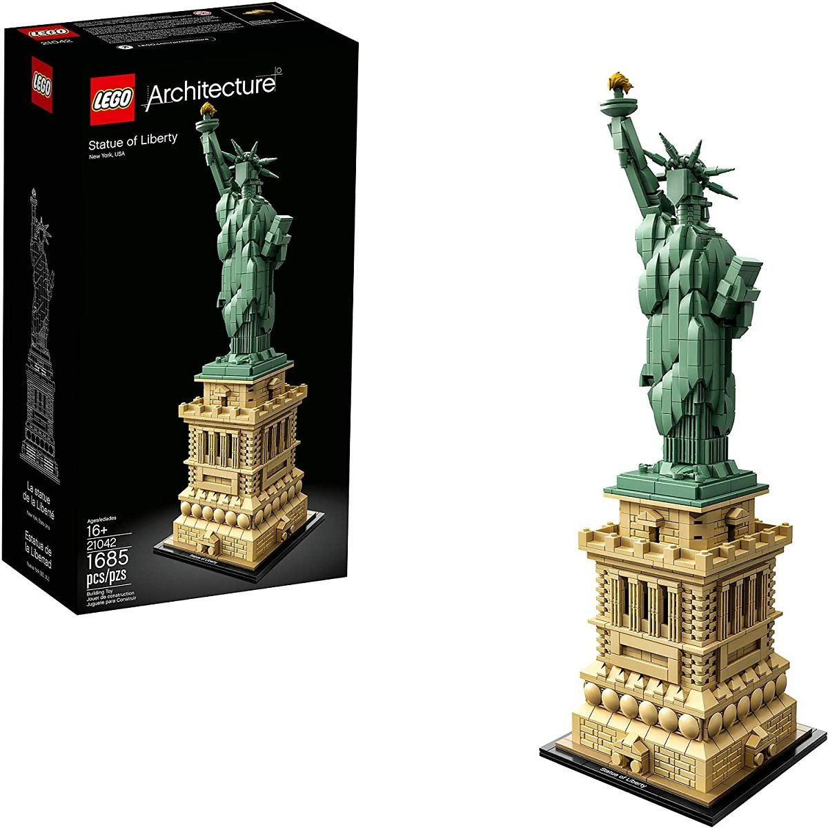LEGO Architecture Statue of Liberty (1685-Pieces)  + F/S