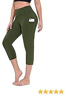 Gillberry Leggings for Women High Waisted with Pockets,Soft Tummy Control Workout Athletic Running Yoga Pants