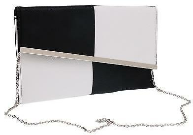 Ladies PU Envelope Clutches Bag Purse Evening Bag Bridal Handbag Prom Bag