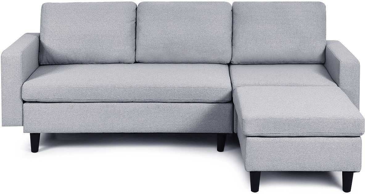 Costway Convertible Sectional Sofa Couch L-Shaped Couch