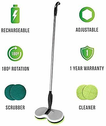 Gladwell Cordless Rechargeable Electric Mop