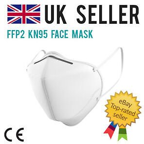 FFP2 KN95 Face Mask Hygienic Cover Medical Surgical N95 UK Anti Bacterial