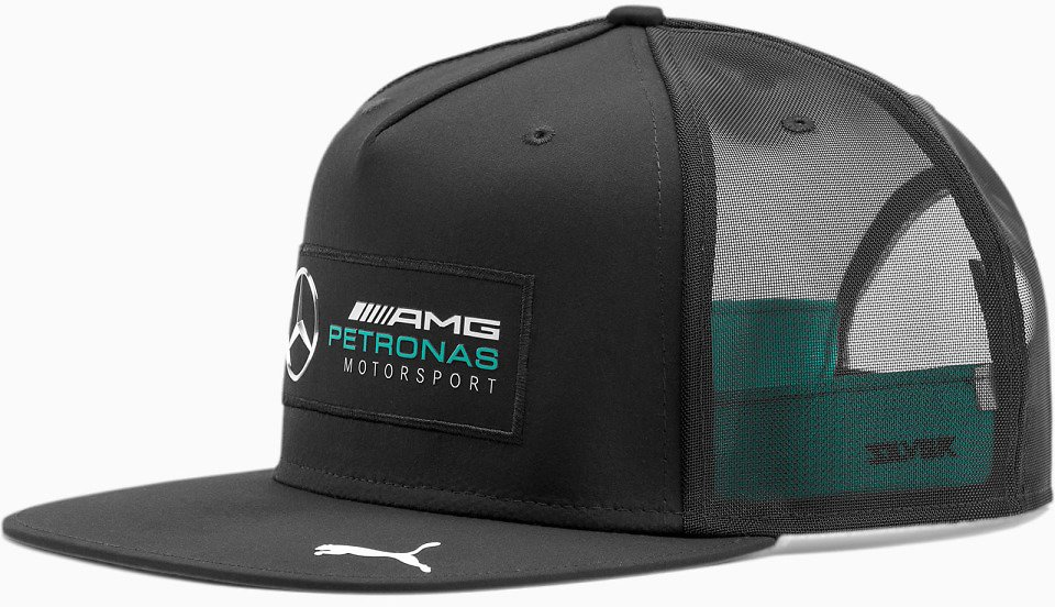Mercedes AMG Petronas Silver Arrows Flatbrim Cap (2 Colors)